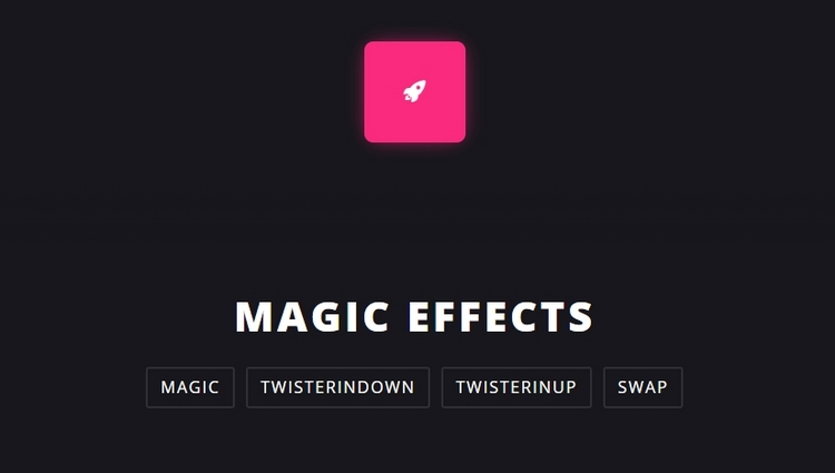 magic animation